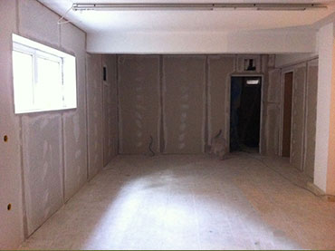 Τοιχια και επενδυσεις τοιχων με γυψοσανίδες σε οικία στο Ψυχικο