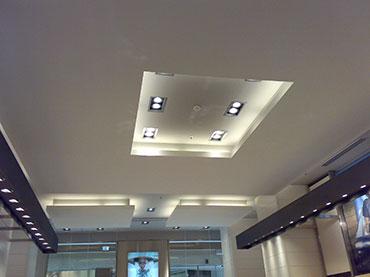 οροφή σε κατάστημα στο mall