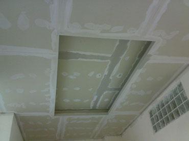 οροφή με κρυφό φωτισμό στο Ηράκλειο