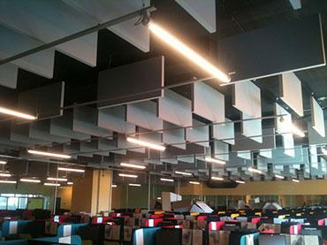 Ηχοαπορροφιτικη οροφή για την acoustic sceince
