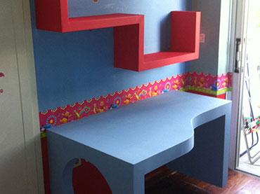 Παιδικο γραφειο και ραφακια σε οικια στο Νεο Ηρακλειο