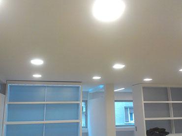 οροφή σε γραφεία στο Κολωνάκι