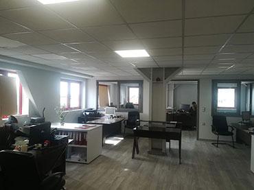 Κατασκευή -γραφείων σε εταιρία στις Αχαρναί.