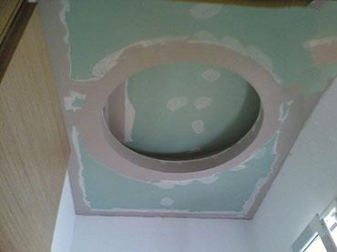 οροφή με κύκλο σε wc στην Κηφισιά