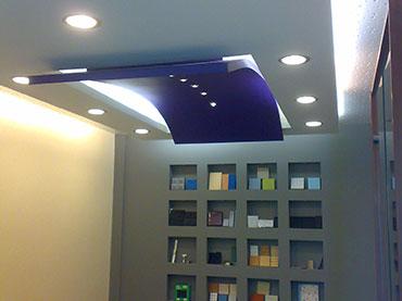 Σχέδιο οροφής στην εταιρία   Acoustic Science