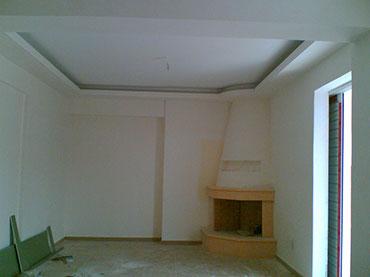 οροφή με κρυφό φωτισμό στο Φάληρο