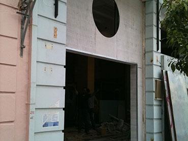 Πρόσοψη μαγαζιού beer academy στο Παγκράτι