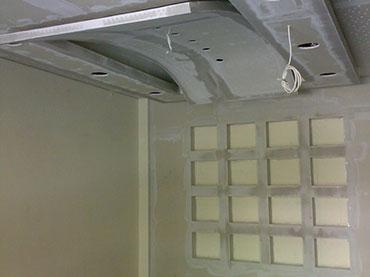 σχεδια οροφης και  κουτακια εσοχες στον τοιχο