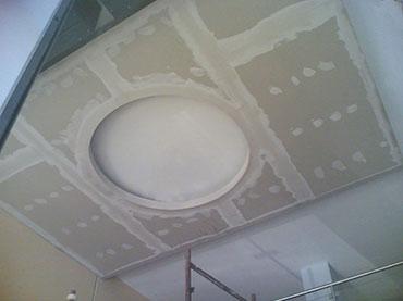 οροφή σε κατάστημα στο Χαλάνδρι