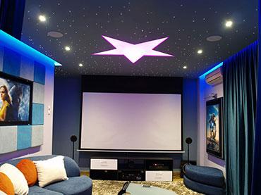 Home theater σε οικία στην Καλλιθέα.