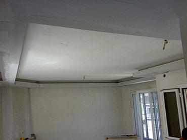 οροφή με φωτισμό