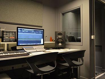 Κατασκευή studio μέσα στην βιβλιοθήκη της Βέροιας.