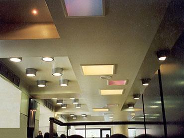 σχέδια οροφής σε μαγαζί  ΜcDONALDS στο Σύνταγμα