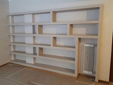 Ραφιέρα-βιβλιοθηκη σε οικία στην Κυψελη